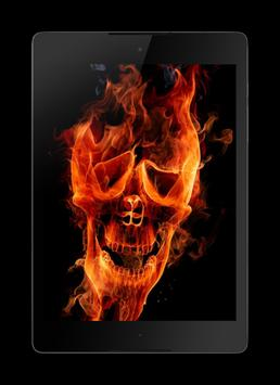 Skull HD Wallpaper screenshot 3