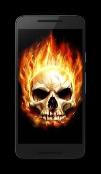Skull HD Wallpaper screenshot 1