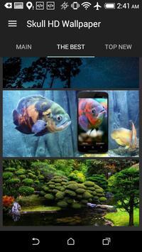 Skull HD Wallpaper screenshot 7