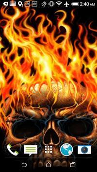 Skull HD Wallpaper screenshot 4