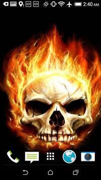 Skull HD Wallpaper screenshot 6
