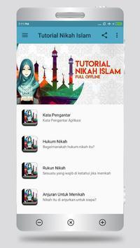 Tutorial Nikah Islam poster