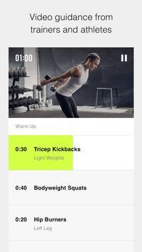 Nike Training Club – 運動與健身計畫 海報