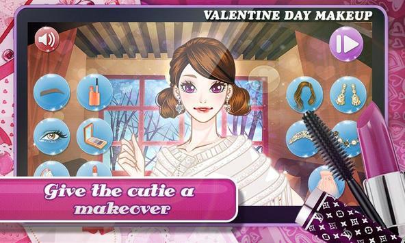 Valentine Day: Classy Makeup screenshot 5