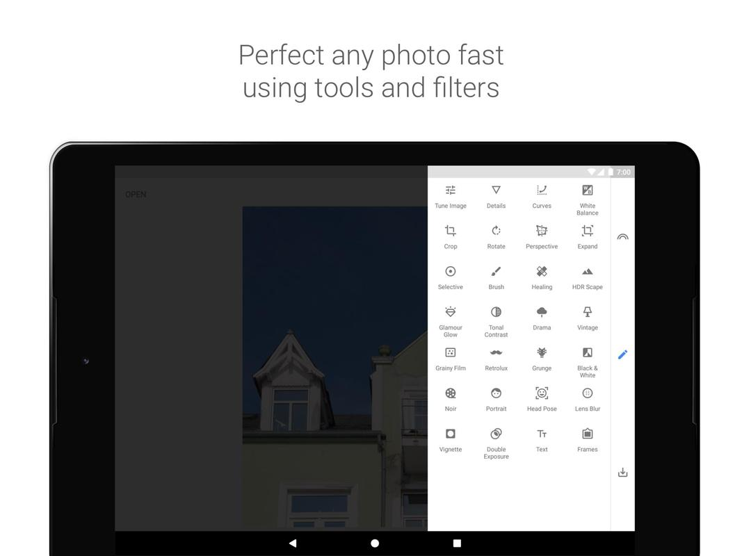 snapseed photo editor apk free download