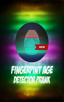 Fingerprint Age Detector Prank screenshot 1