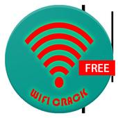 Crack wifi password prank icon