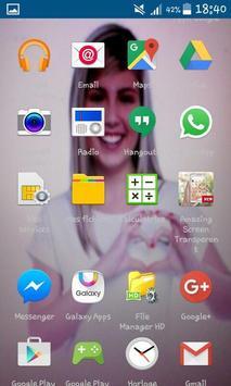 Amazing Transparent Screen Pro screenshot 2