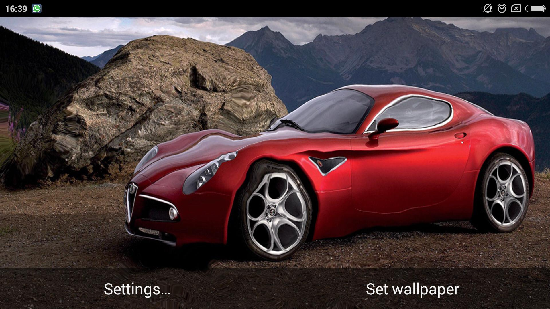 3d Car Ripple Live Wallpaper For Android Apk Download
