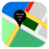 Nile river Map icon