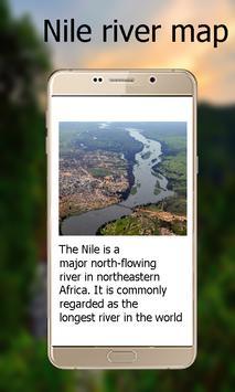 Nile river Map screenshot 1