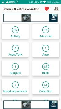 Interview Question - Fresher Android Developer screenshot 4