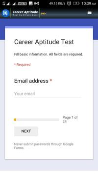 Career Aptitude Pro screenshot 2