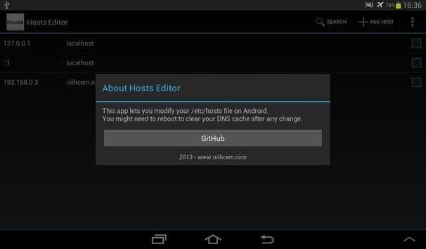 Hosts Editor screenshot 7
