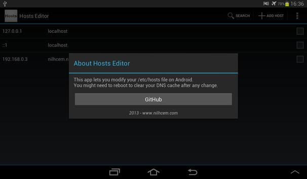 Hosts Editor for Android - APK Download