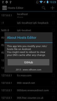 Hosts Editor screenshot 4
