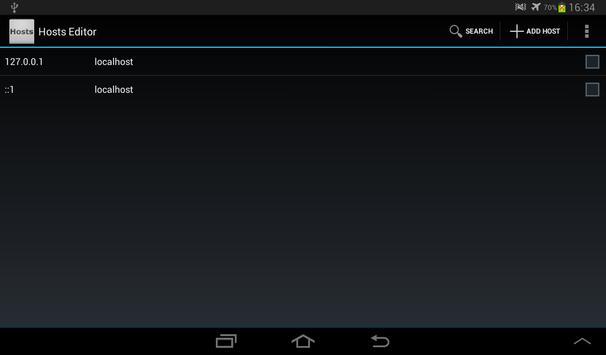 Hosts Editor screenshot 5