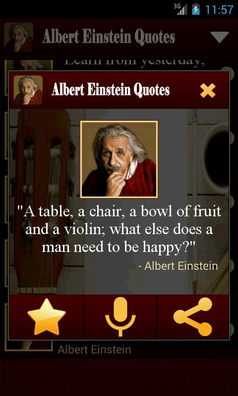 Albert Einstein Quotes Free For Android Apk Download