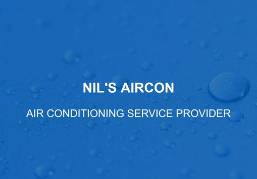 Nil's Aircon - Air conditioners Services & Support poster