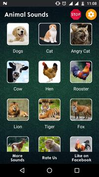 120+ Animal Sounds apk screenshot