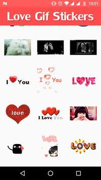 Love GIF Sticker poster