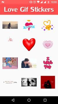 Love GIF Sticker screenshot 2