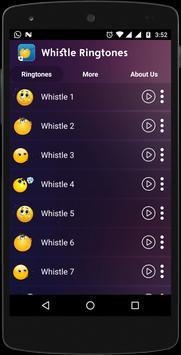 Whistle Ringtones screenshot 1