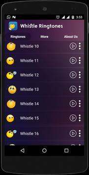 Whistle Ringtones screenshot 4