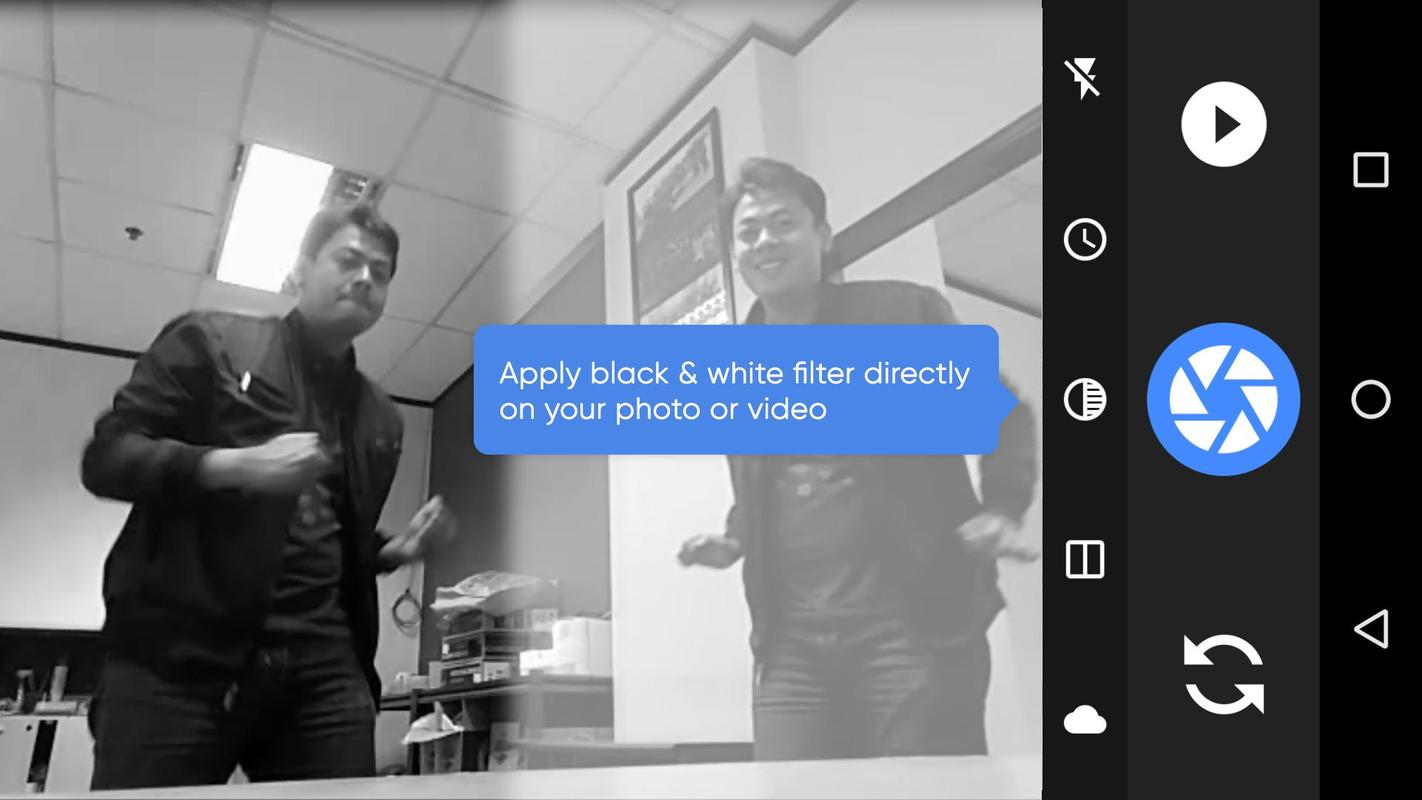 how to make a split screen video on android