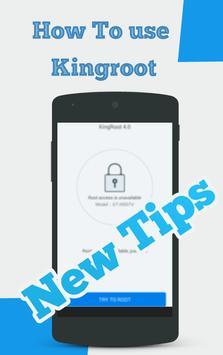 Guide for kingroot screenshot 1