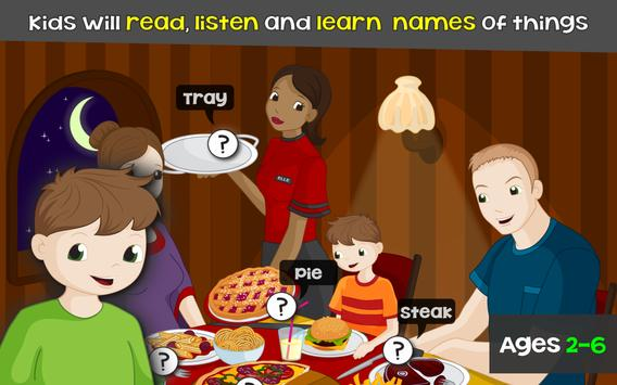Words for Kids - Reading Games poster