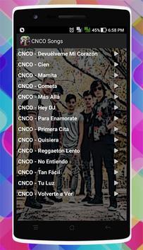 CNCO Songs screenshot 1