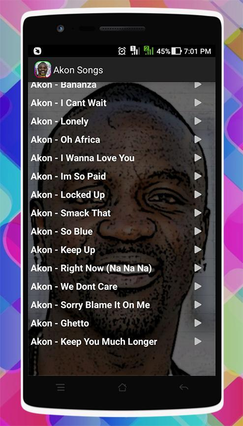 Akon Songs for Android - APK Download