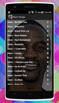 Akon Songs screenshot 1