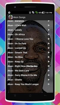 Akon Songs screenshot 2