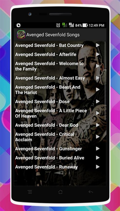 a7x songs mp3 download