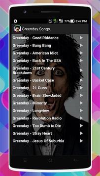Greenday Songs screenshot 1
