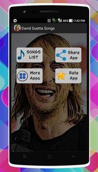 David Guetta Songs apk screenshot