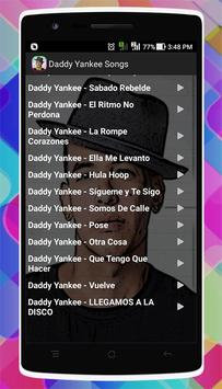 Daddy Yankee Songs screenshot 3