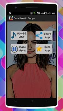 Demi Lovato Songs screenshot 2