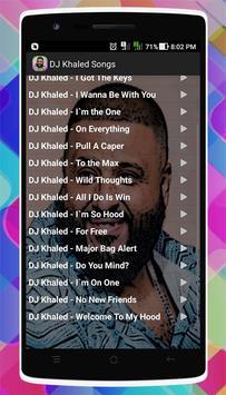 DJ Khaled Songs apk screenshot