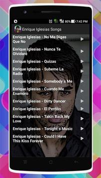 Enrique Iglesias Songs apk screenshot