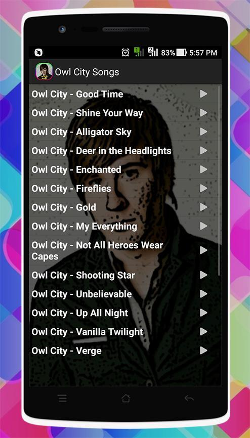 Owl City Songs for Android - APK Download