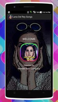 Lana Del Rey Songs capture d'écran 3