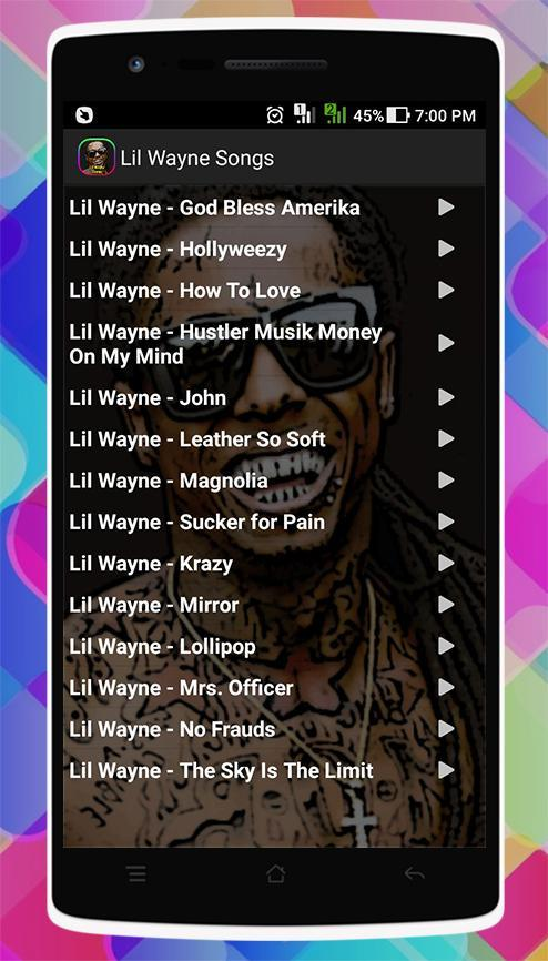 Lil Wayne Songs for Android - APK Download