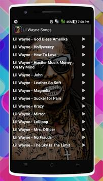 Lil Wayne Songs screenshot 5