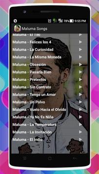 Maluma Songs apk screenshot