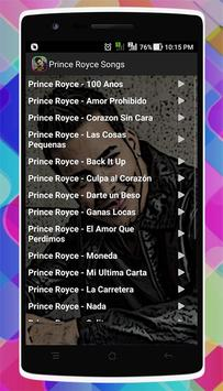 Prince Royce Songs screenshot 1