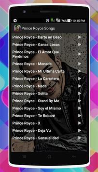 Prince Royce Songs screenshot 5