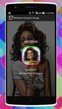 Whitney Houston Songs poster